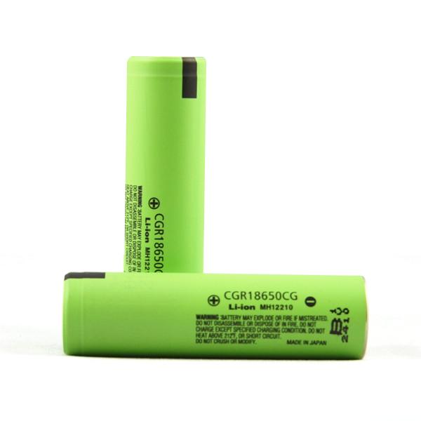 18650 2250mah Panasonic cgr18650cg lithium-ion 18650 cells