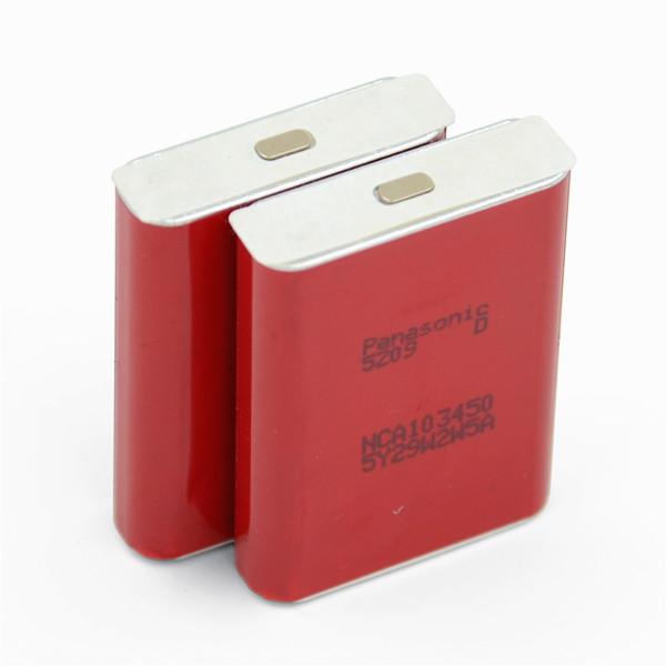 Panasonic 103450 Li Ion Prismatic Battery Nca103450 B005a