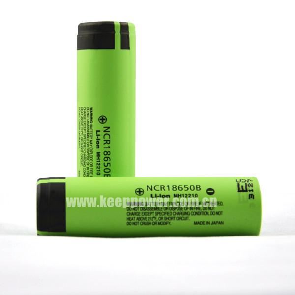 Ncr18650b Panasonic 3400mah 18650 Li Ion Battery High Capacity